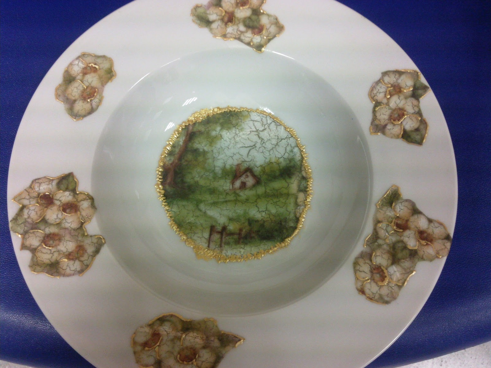 Artes decorativas geli molina plato de ceramica - Platos de ceramica ...