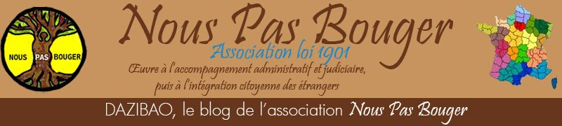 Association Nous Pas Bouger  Site Internet: http://www.nouspasbouger