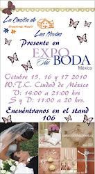 LA CASITA DE LAS NOVIAS PRESENTE EN EXPO TU BODA