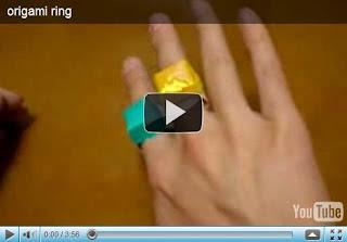 Оригами - кольцо