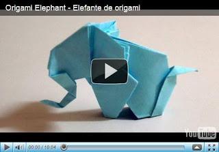 Слон - ригами