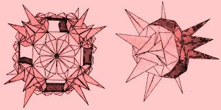 Модуль из традиционного японского оригами