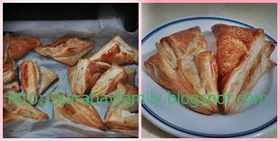 Milföy peynir & Milföy maydanoz พายไส้ชีส