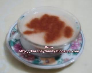 Boza น้ำข้าวสาลีหมัก