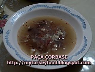PAÇA ÇORBASI ซุปขาแกะ
