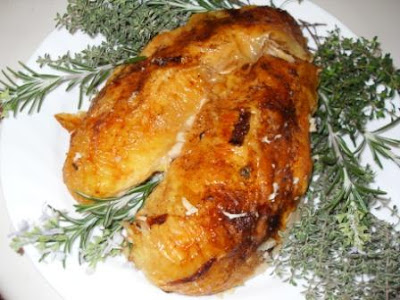 Rosemary Chicken With Orange-Maple Glaze Recipe — Dishmaps