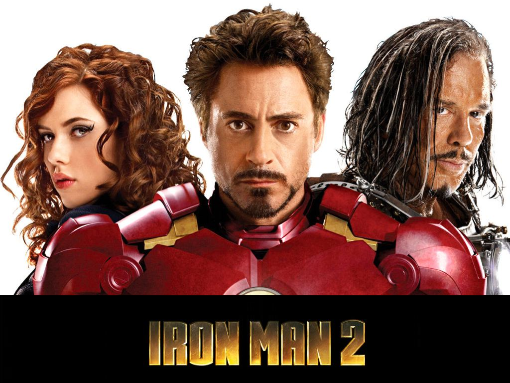 cast of iron man 2