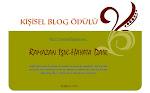 Kişisel Blog Ödülü