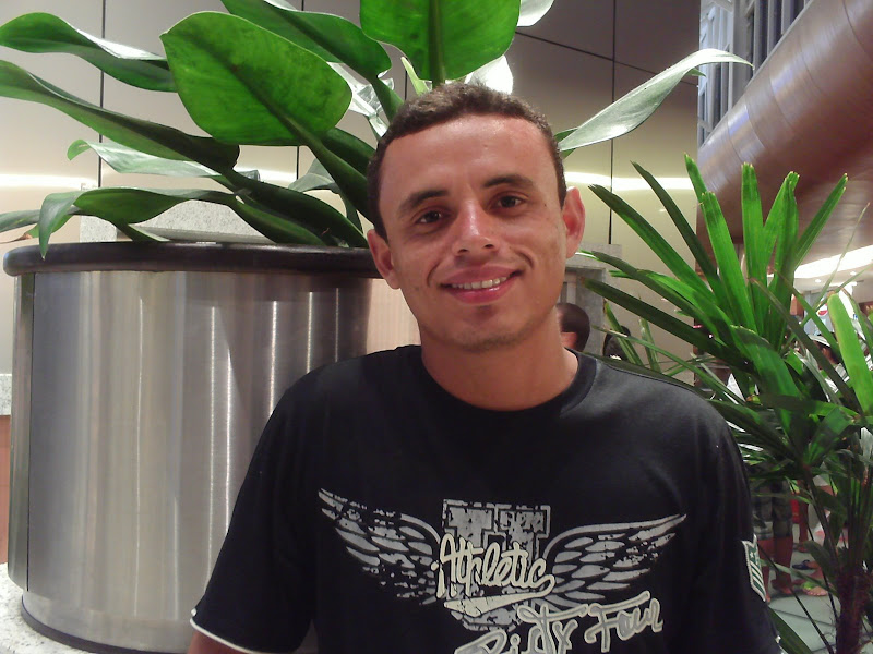 Noviço Jaelson Batista de Souza