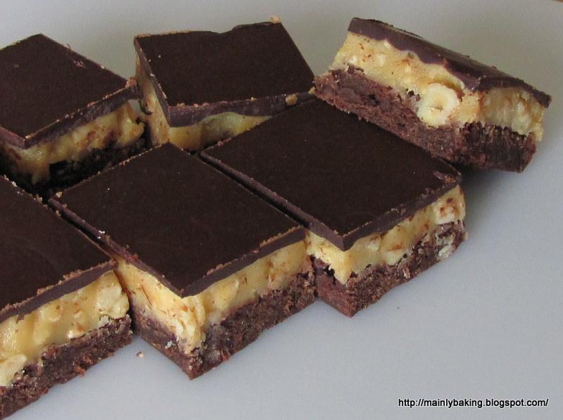 Mainly Baking: Chocolate Hazelnut Caramel Bars