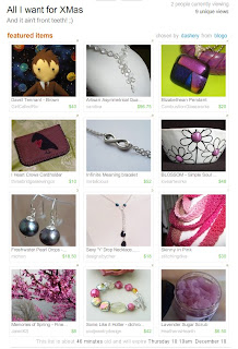 etsy treasury xmas