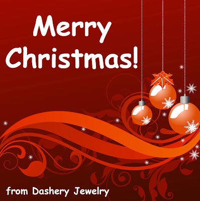 merry christmas from dashery jewelry
