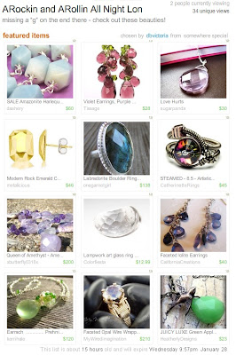 etsy treasury dashery dbvictoria