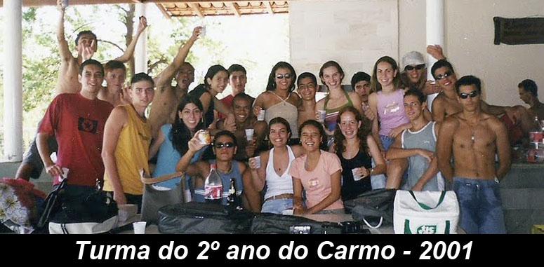 Turma do 2º ano do Carmo - 2001