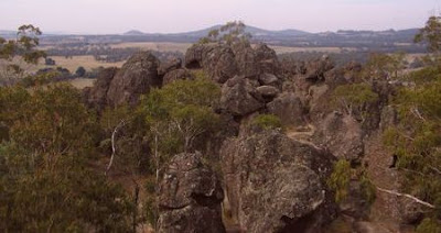 Mt Diogenes, alias Hanging Rock, NE of Melbourne