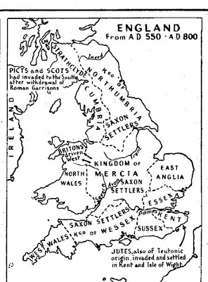 Map of Early Britain