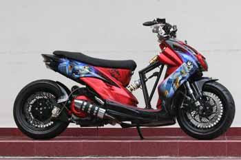 Yamaha Mio Soul Low Rider Modification