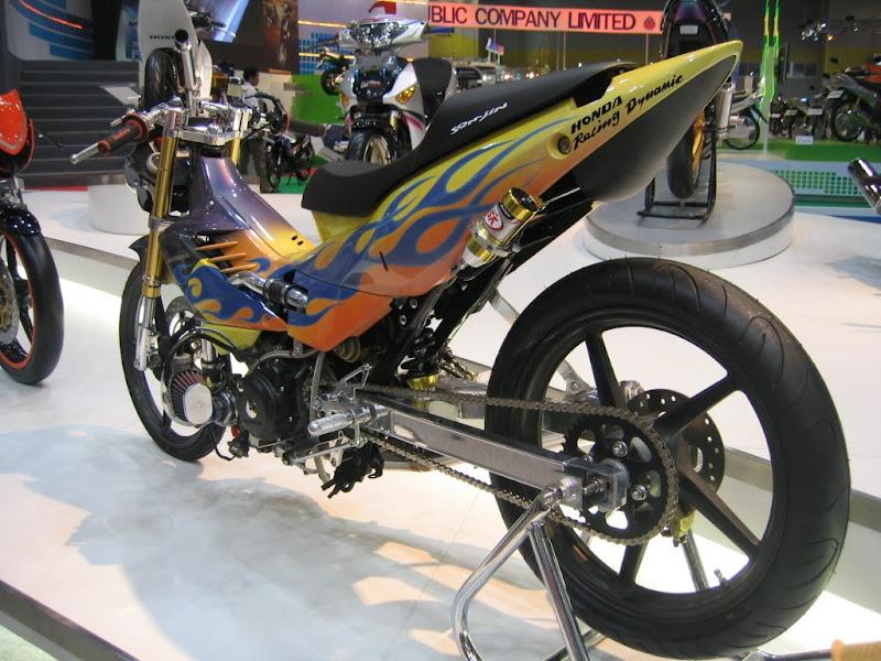 Modifikasi Motor Honda Supra FU 170cc title=