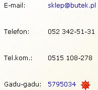 Kontakt messagerie instantanee