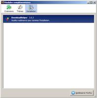 Relancer Firefox