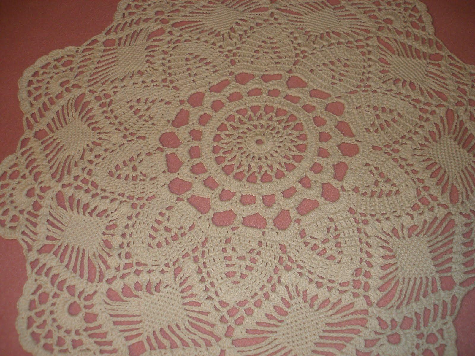 Venta de cintillos y aros a crochet centros de mesa for Centro de mesa a crochet