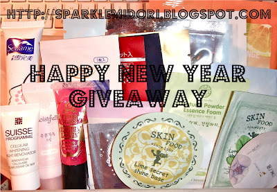 Sparklemidori Happy New Year Giveaway Prize