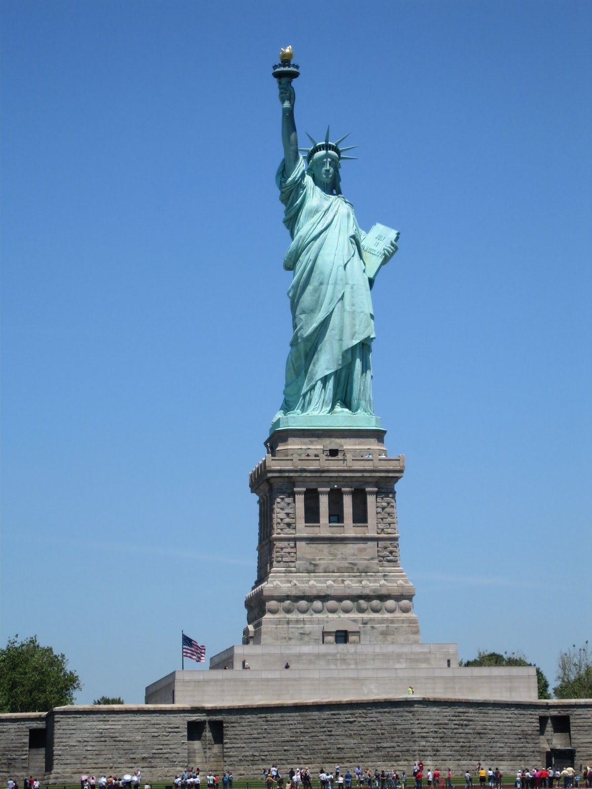 Engineer Of Knowledge The Statue Of Liberty The Symbol Of American