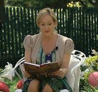 Primeiras informações sobre o evento em que Rowling leu 'A Pedra Filosofal' na Casa Branca