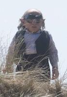 Warwick Davis filmou mais cenas para 'Harry Potter e as Relíquias da Morte' hoje