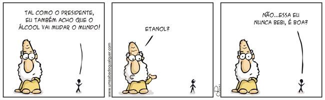 Tirinhas da Luna #12: 'Etanol'