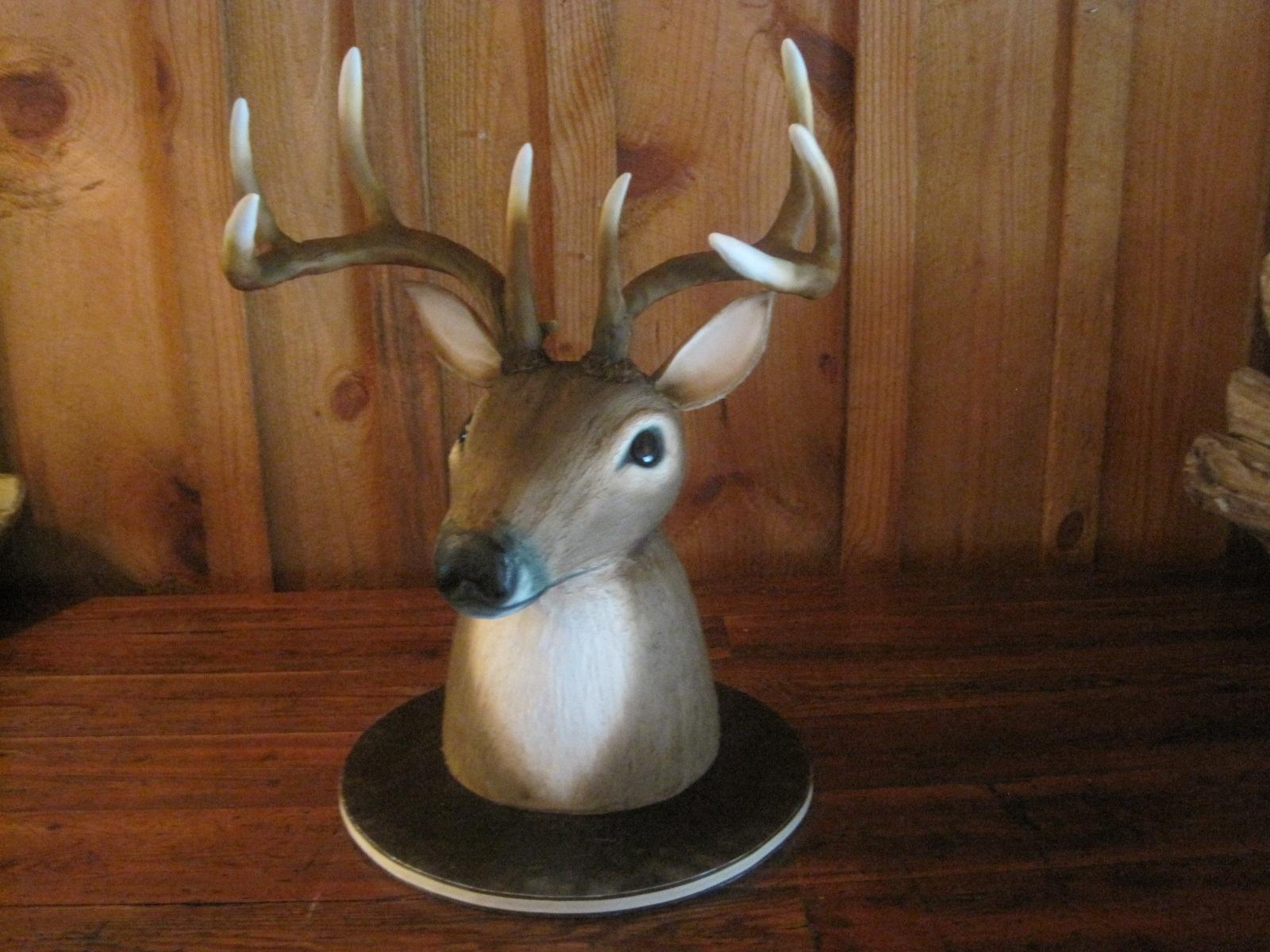 Deer Head Cake Instructions