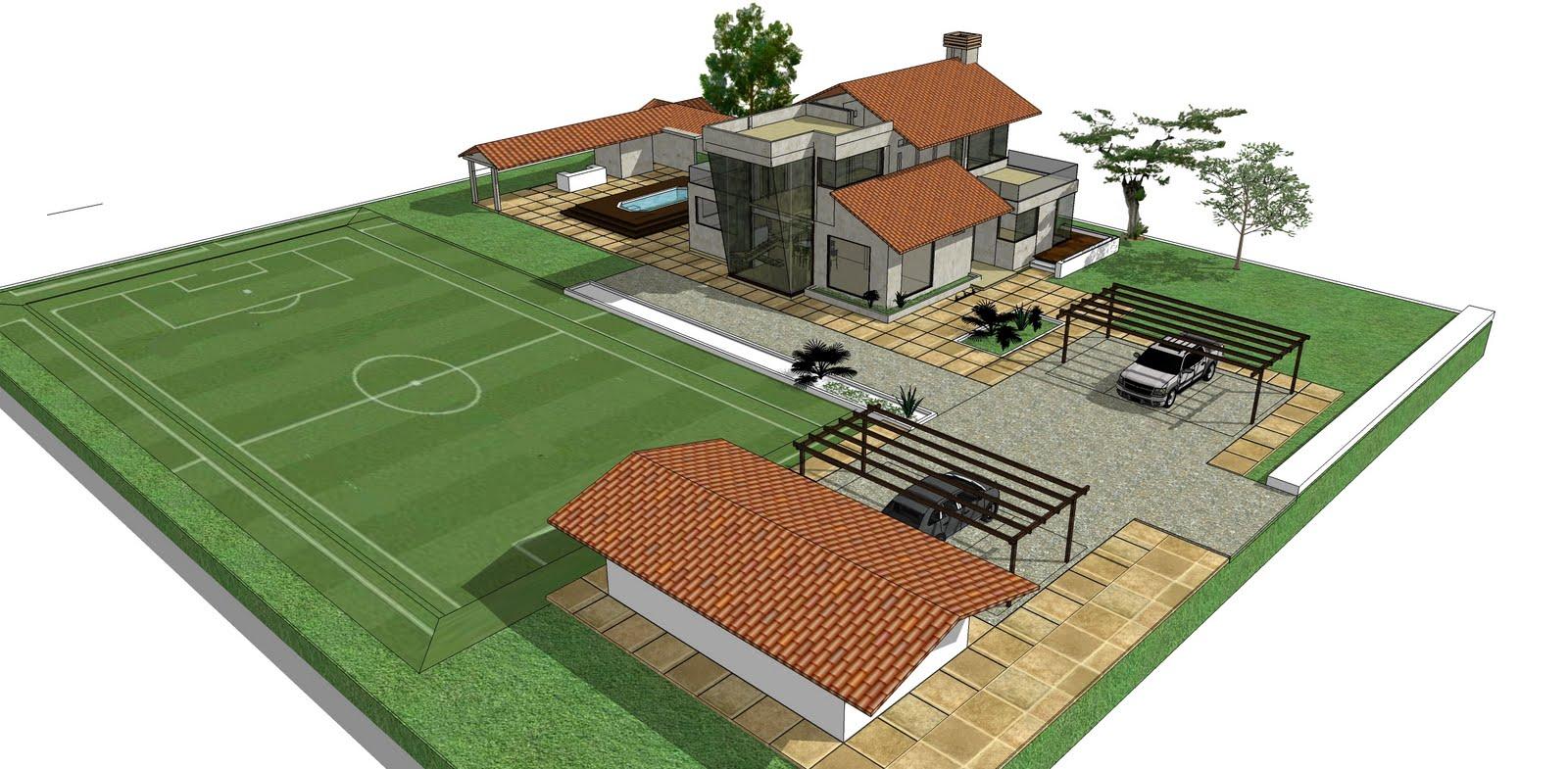 Casa de recreo. Mesa de los Santos. 2010: MAQUETA 3D - Diseño ...