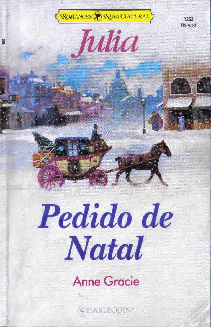 JULIA 1262  PEDIDO DE NATAL   ANNE GRACIE