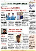 CANOAGEM DA ARCOR NA IMPRENSA DE ÁGUEDA