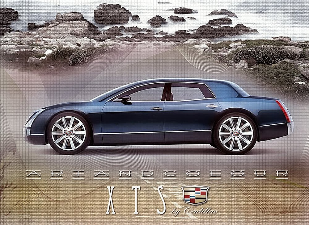 I Made This XTS Chop From The Mighty Sixteen Concept Of 2003. While I Was  Totally Wrong About The Direction Of The Actual XTS Concept Shown This  Year, ...