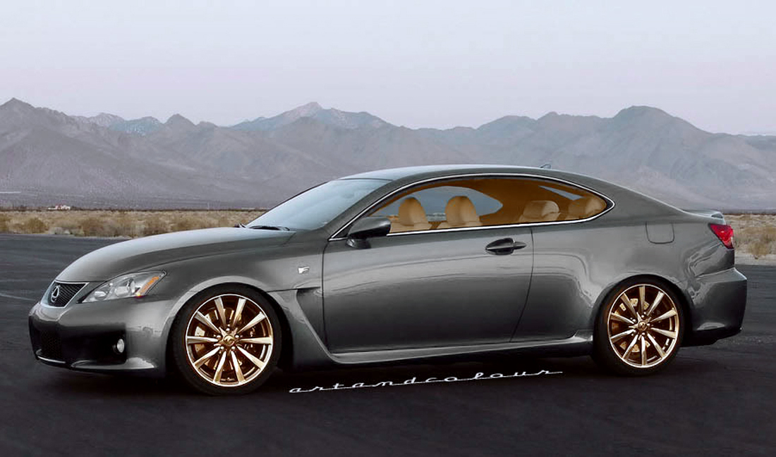 The Luxury Marqueu0027s Performance Model, The IS/F Could Certainly Turn A Few  Heads With Two Fewer Doors And Two Less Pillars. Lexus Could One Up The  Upcoming ...