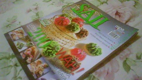 Resipi Biskut Raya Hasil Ilham Chef Arm Di Majalah Saji