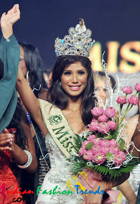 Indian Fashion Trends: Nicole Faria won the Miss Earth 2010