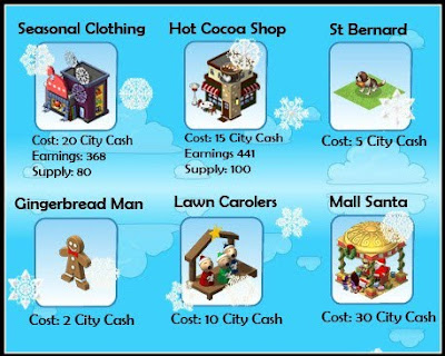 Holiday items pictures
