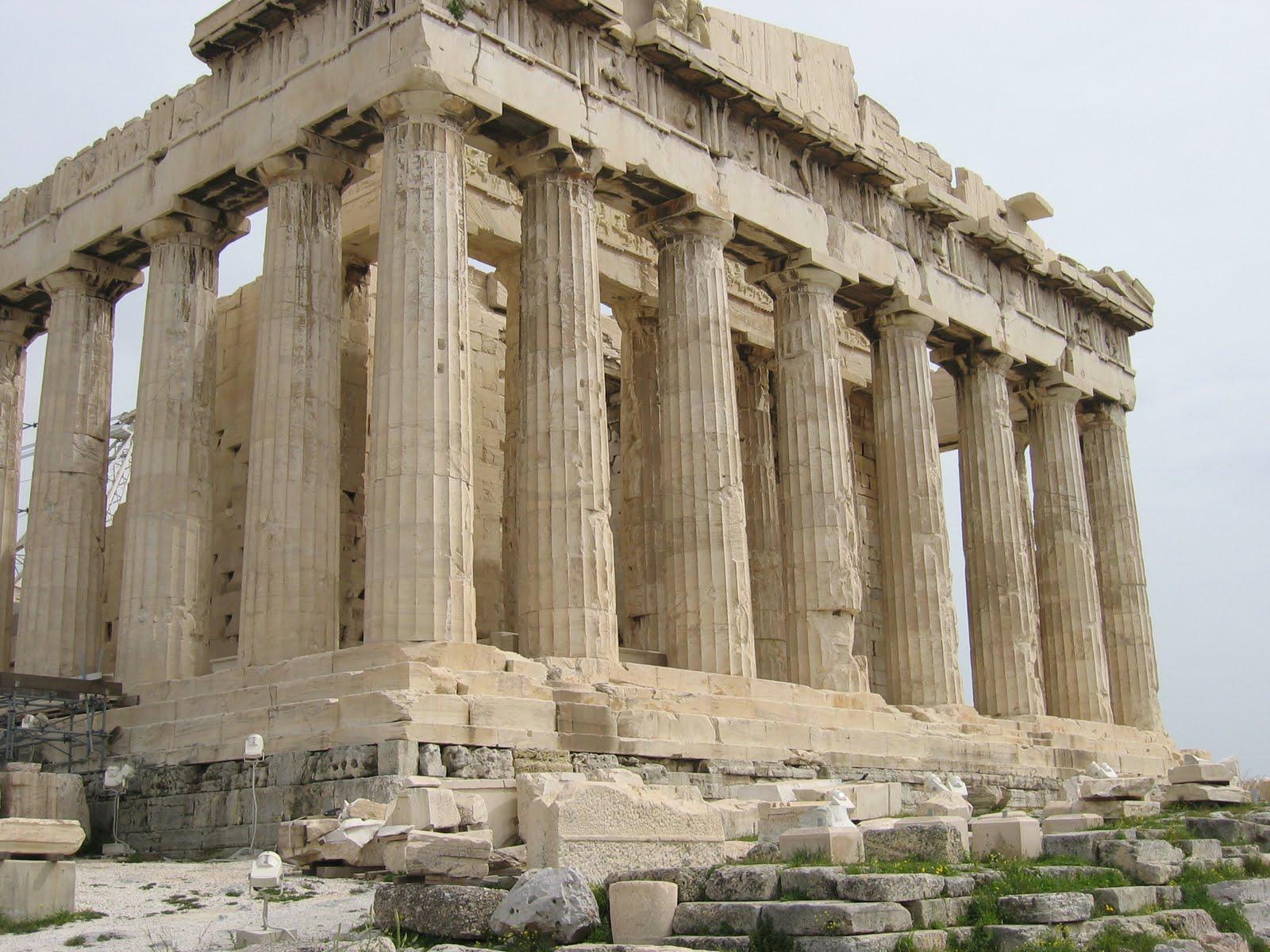 Maravillas del mundo antiguo ii el parten n atenas for Costumbres de grecia
