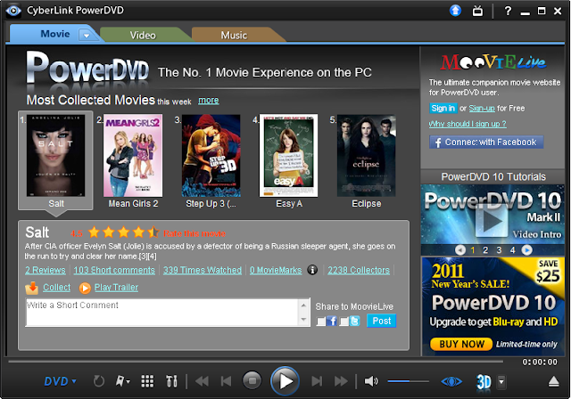 PowerDVD 10 image