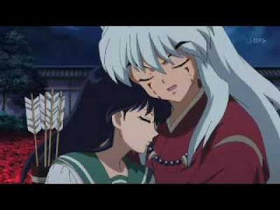 inuyasha and kagome hugging
