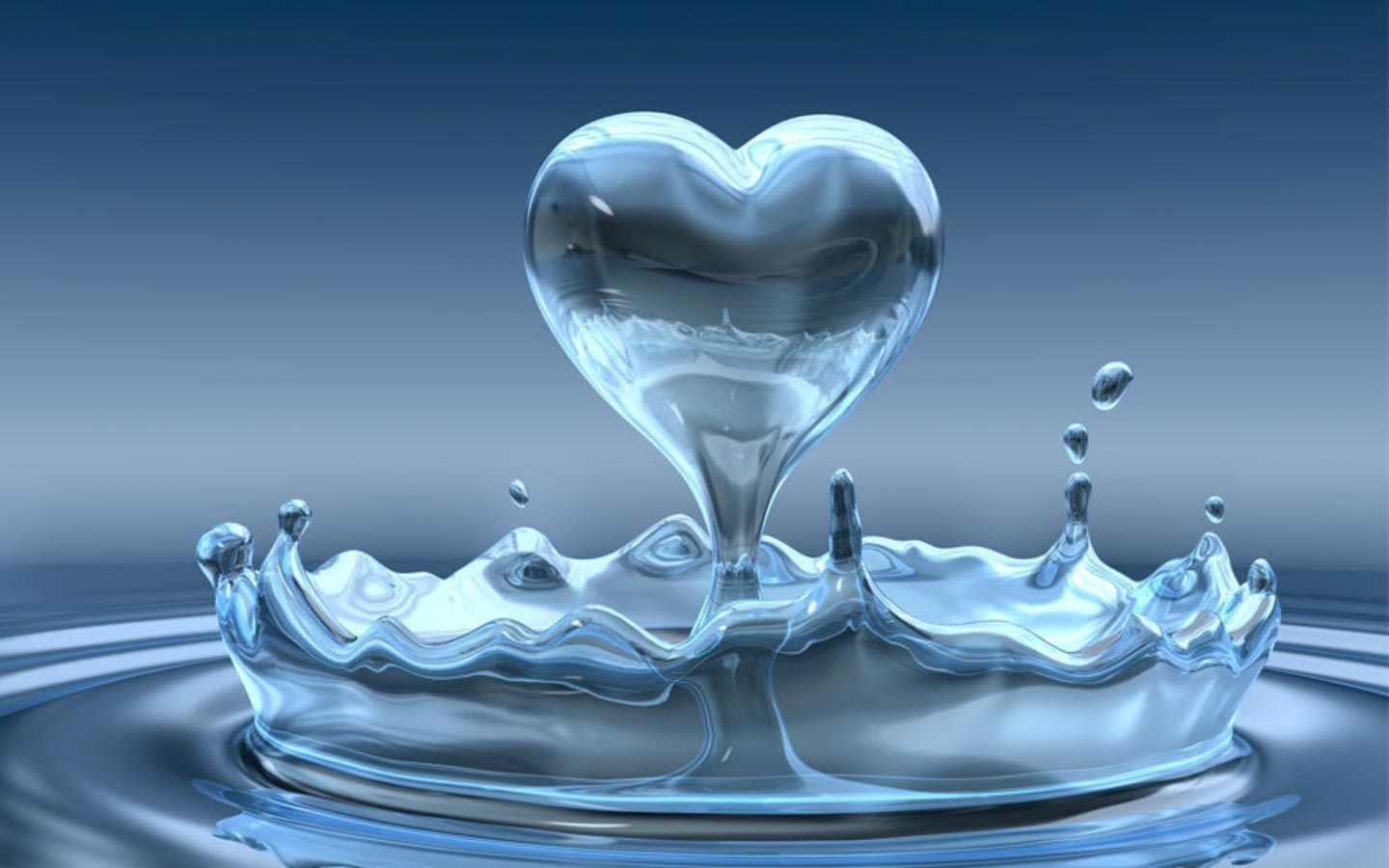 Love splash background wallpaper