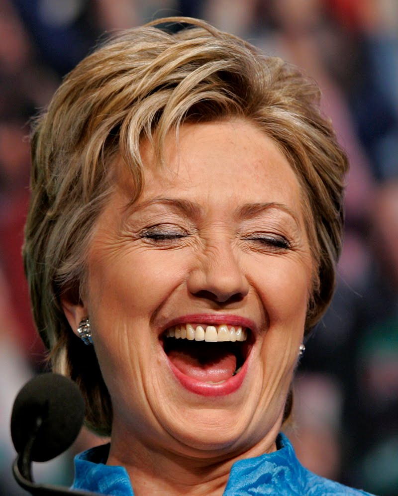 hilary clinton laughing at nigeria Size: Adult S, M, L, XL, XXL; Youth S, M, L Color: Black, Grey, Red