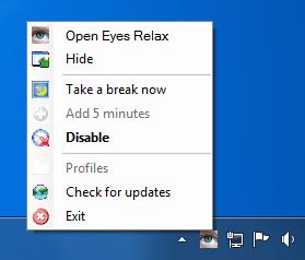 Eye+Relax+14 Eyes Relax   công cụ bảo vệ mắt cho người dùng máy tính