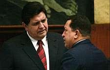 Alan García & Hugo Chávez