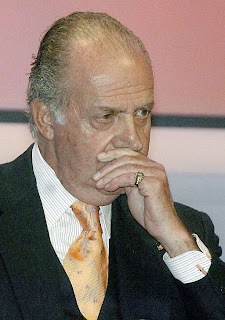 Rey Juan Carlos de Borbon