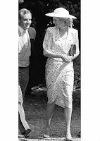 Diana con su guardaespaldas Barry Mannakee