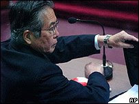 Procesado ex presidente Alberto Fujimori