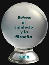 Premio ESFERA AL INTELECTO Y LA FILOSOFIA